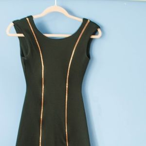 Nasty Gal Black Mini Skater Dress